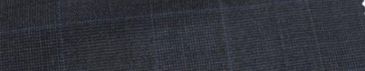 【Ca_6w213】チャコールグレー・グレンチェック+ブループレイド
