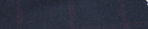 【Ca_6w228】ネイビーマットウース+5.5×4.5cmダークレッドプレイド