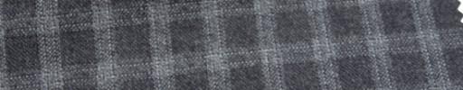 【Ca_6w229】ミディアムグレー+1.5cm・ホワイトファンシーチェック