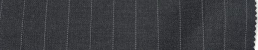 【Ca_6w707】チャコールグレー+1.1cm巾ストライプ