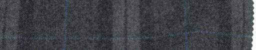 【Ca_6w718】グレー+8×6cm黒・ライトグレーファンシーチェック+ブルーウィンドウペーン