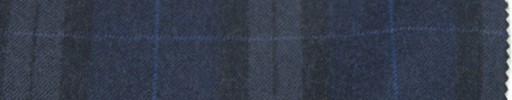 【Ca_6w719】ネイビー+8×6cm黒・ライトブルーファンシーチェック+ブルーウィンドウペーン