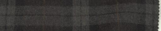 【Ca_6w720】ブラウン+8×6cm黒・ライトブラウンファンシーチェック+オレンジウィンドウペーン
