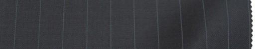 【Do_6w74】ダークネイビー+1.3cm巾ライトブルーストライプ