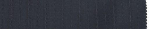 【Er_6w12】ミッドナイトブルー+1.4cm巾織り交互ストライプ