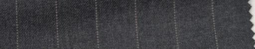 【Hs_wcs07】チャコールグレー+1.6cm巾ストライプ
