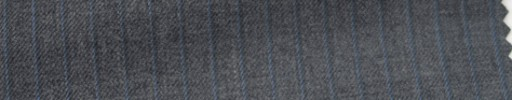 【Hs_wcs11】ミディアムグレー+5ミリ巾水色ストライプ