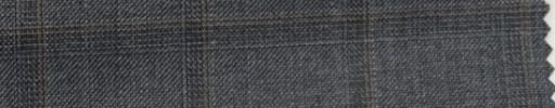 【Hs_wcs16】ミディアムグレー+4×3cmライトブラウン・織りファンシープレイド
