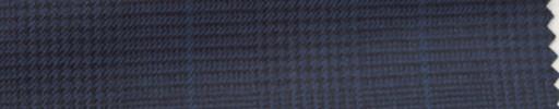 【Hs_wcs28】ネイビーグレンチェック+5.5×4.5cmブループレイド