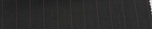 【Sb_6w17】ブラック+1cm巾パープル・織りストライプ