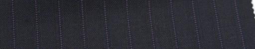 【Sb_6w18】ネイビー+1cm巾パープル・織りストライプ