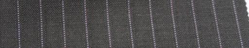 【Sb_6w19】グレー+1cm巾パープル・織りストライプ