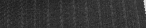 【Sb_6w21】チャコールグレー+9ミリ巾ドット・織り交互ストライプ
