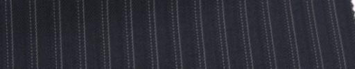 【Sb_6w24】ネイビー+8ミリ巾Wドット・織りストライプ