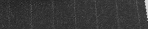【Sb_6w29】チャコールグレー+1.7cm巾ストライプ