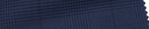 【Ar_6w001】ダークネイビー・グレンチェック+7×6cm黒ウィンドウペーン