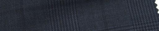 【Ar_6w002】ダークブルーグレー・グレンチェック+7×6cm黒ウィンドウペーン