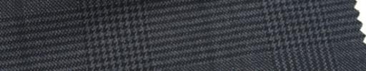 【Ar_6w003】チャコールグレー・グレンチェック+7×6cm黒ウィンドウペーン