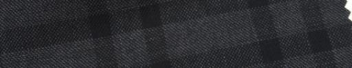 【Ar_6w006】グレー+6×5cm黒Wプレイド