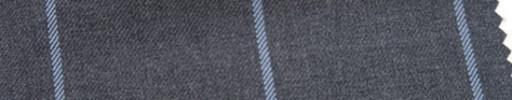【Ar_6w008】ミディアムグレー+5.5×4.5cm水色ウィンドウペーン