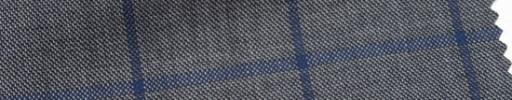 【Ar_6w010】グレー+4.5×3.8cmネイビーウィンドウペーン