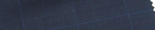【Ar_6w017】ダークネイビー・グレンチェック+5×4cmブルーウィンドウペーン