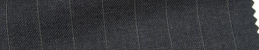 【Ar_6w020】チャコールグレー+1.4cm巾ペンシルストライプ