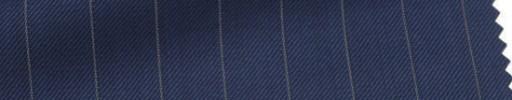【Ar_6w021】ライトネイビー+1.4cm巾ペンシルストライプ