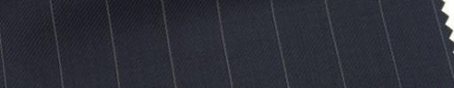 【Ar_6w022】ダークネイビー+1.4cm巾ペンシルストライプ