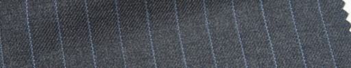 【Ar_6w026】ミディアムグレー+9ミリ巾ライトブルーストライプ