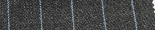【Ar_6w110】ミディアムグレー+2.2cm巾水色ストライプ
