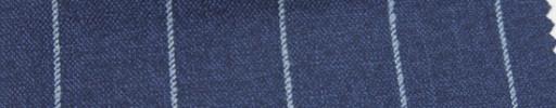 【Ar_6w111】ライトネイビー+2.2cm巾水色ストライプ