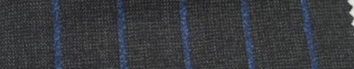 【Ar_6w112】チャコールグレー+2cm巾ブルーストライプ