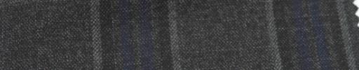 【Ar_6w118】グレー・ネイビー・黒7.5×5.5cmタータンチェック