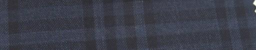 【Ar_6w135】ダークブルー・黒7.5×6cmタータンチェック