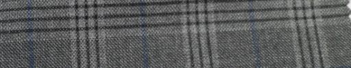 【Ar_6w137】グレーファンシーチェック+4.5×3.5cmネイビーウィンドウペーン