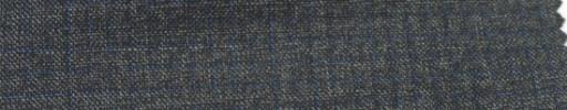 【Ar_6w144】チャコールグレー杢+3ミリネイビーグラフチェック