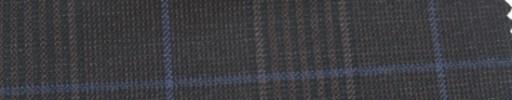 【Ar_6w152】ダークブラウングレンチェック+7×6cmパープルウィンドウペーン