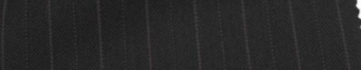 【Ckb_w104】ブラック+1.3cm巾パープル・織り交互ストライプ