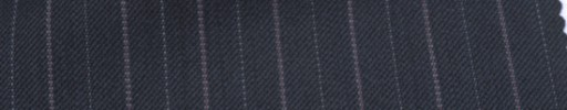 【Ckb_w105】ネイビー+1.3cm巾パープル・織り交互ストライプ