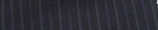 【Ckb_w112】ネイビー柄+1.2cm巾パープル・織り交互ストライプ