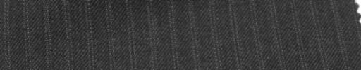 【Ckb_w121】チャコールグレー+5ミリ巾織りストライプ
