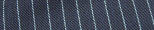 【Ckb_w136】ネイビー+9ミリ巾ライトブルーストライプ