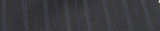 【Ckb_w138】ダークネイビー+1.3cm巾ブルー交互ストライプ