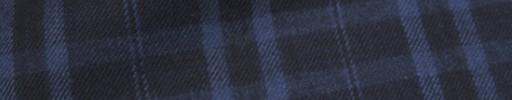 【Ckb_w151】ネイビー+4.5×4cmブルーファンシープレイド