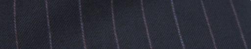 【Ckb_w153】ネイビー+1.3cm巾パープルストライプ