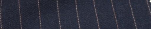 【Ckb_w154】ライトネイビー+1.3cm巾赤×白ストライプ