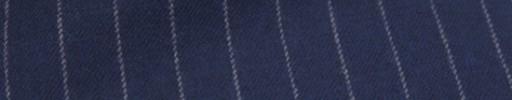 【Ckb_w159】ライトネイビー+1.1cm巾白ストライプ