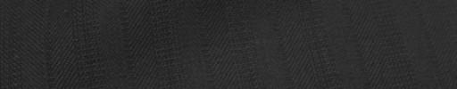 【Ckb_w164】黒柄+1.5cm巾織り交互ストライプ