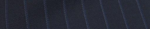 【Ckb_w178】ネイビー+1.2cm巾ブルー・白ストライプ